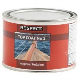 Respect top coat no2 1/2 ltr.