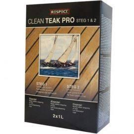 Respect teak clean pro kit 2 x 1 liter