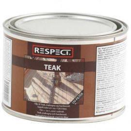 Respect teakolie med uv filter 05ltr