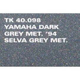 Spraymaling yamaha dark greyun 1950