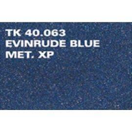 Spraymaling evinrude blue xp