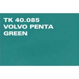 Spraymaling volvo green
