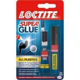 Loctite all plast 2gr. + 4ml.