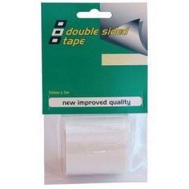 Psp doubleside tape 50mmx5m dobbeltklæbende tape klar