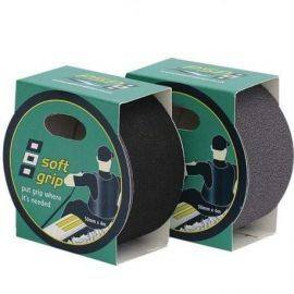Psp soft grib tape - antiskrid tape grå 50mmx4m