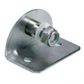 Vinkel beslag 8 mm indvindig rustfrit stål