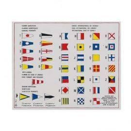 Klistermærke - flagkoder