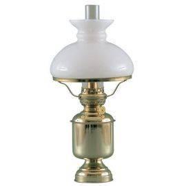 Bordlampe stor 8816 olie excl skærm & holder