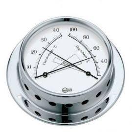 Barigo tempo termo-hygro ø85-110mm krom