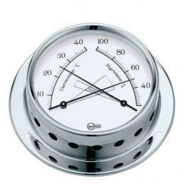 Barigo tempo termo/hygro ø85/110mm krom