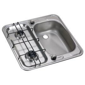 Dometic HS2460R vask højre/komfur kombination med 2 blus