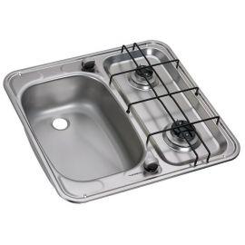 Dometic HS2460R vask venstre/komfur kombination med 2 blus