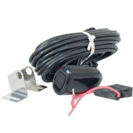 Transducer forlænger sort stik med strøm 15fod Elite/Mark/Cu