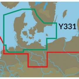 C-map Y331 Danmark til lowrance,simrad & b&g
