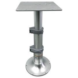 ESM gas justerbar bordsøjle 33-70cm base 305mm