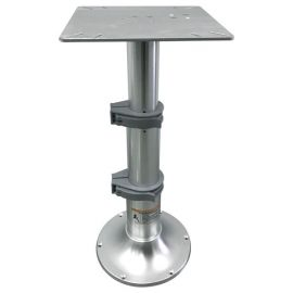 Marinvent gas justerbar bordsøjle 33-70cm  base 305mm