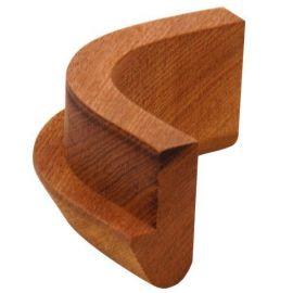 *mahogni vinkel j-profil ude 50/90gr.
