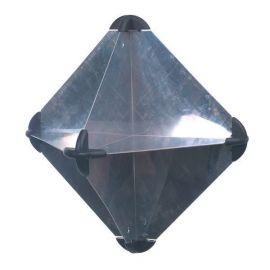 Radar reflektor aluminium 300 x 300 x 415mm 650g 5m2
