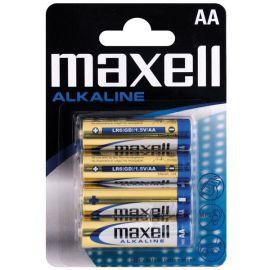 Maxell Alkaline AA / LR6 batterier - 4stk