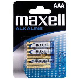 Maxell Alkaline AAA / LR 03 batterier - 4stk