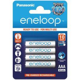 Panasonic eneloop AAA genopladelige batterier 750mah 4 stk.