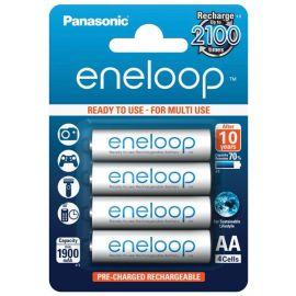 Panasonic eneloop AA genopladelige batterier 1900mah 4 stk.