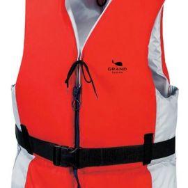 *svømmevest 30-50 kg rød/grå