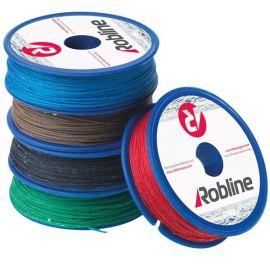 Robline Vokset Taklegarn 0,8mm ass. farve boks 10x80m