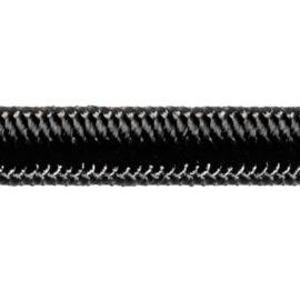 Robline High-Tech elastik snor 4mm Sort 100m