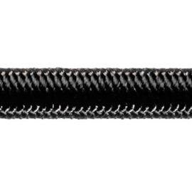 Robline High-Tech elastik snor 6mm Sort 100m
