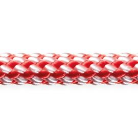 Robline Dinghy Control 4 mm Hvid/Rød 100 meter