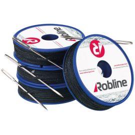 Robline Vokset Taklegarn med nål 0,8mm Hvid rulle med 80m