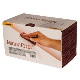Mirka Mirlon total slibesvampe 360 rød 115x230mm 25 stk. pk