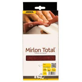Mirka Mirlon total slibesvampe 360 rød 115x230mm 3stk pk