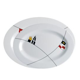 MB Regata oval serveringsfade 30x22/35x25cm 585g 2stk