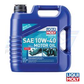 Engine Oil: 10W/40 - 4 Liters