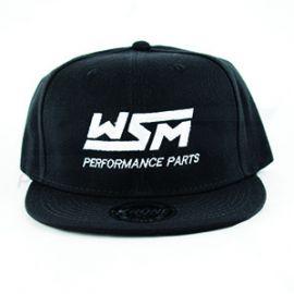 WSM Snapback Hat: Black
